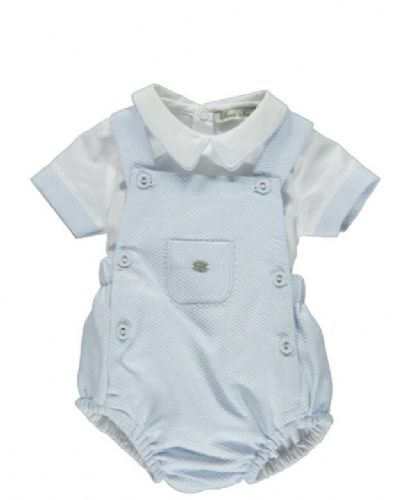 Piccola Speranza Boys Baby Blue Shortie
